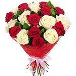 Букети з троянд - цветы и букеты на salonroz.com