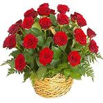 Кошики з троянд - цветы и букеты на salonroz.com