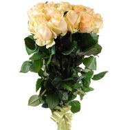 Bouquet of peach roses - flowers and bouquets on salonroz.com