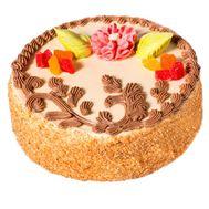 Бисквитный торт - цветы и букеты на salonroz.com