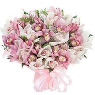 Большой букет орхидей - цветы и букеты на salonroz.com