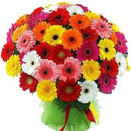 Bouquet of 101 gerbera flowers - flowers and bouquets on salonroz.com
