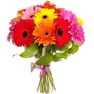 Bouquet of flowers from 23 gerberas - flowers and bouquets on salonroz.com