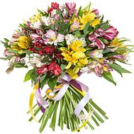 Bouquet of 35 alstromeries flowers - flowers and bouquets on salonroz.com