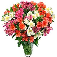 Bouquet of flowers - Explosion of emotions - flowers and bouquets on salonroz.com