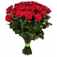 Букет із 41 червоної троянди - цветы и букеты на salonroz.com