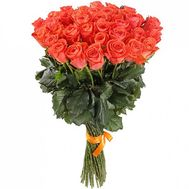 Bouquet of 41 orange roses - flowers and bouquets on salonroz.com