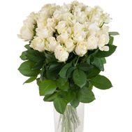 Букет из 33 белых роз - цветы и букеты на salonroz.com