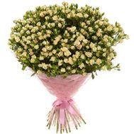 Bouquet of 51 rose-spray - flowers and bouquets on salonroz.com
