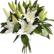Bouquet of 5 lilies - flowers and bouquets on salonroz.com