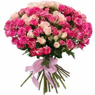 A wonderful bouquet of spray roses - flowers and bouquets on salonroz.com