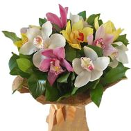 Exotic bouquet of orchids - flowers and bouquets on salonroz.com