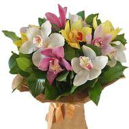 Екзотичний букет орхідей - цветы и букеты на salonroz.com