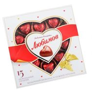 Lyubimov Candies Chocolate hearts - flowers and bouquets on salonroz.com