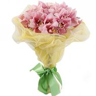 Ніжний букет із орхідей - цветы и букеты на salonroz.com