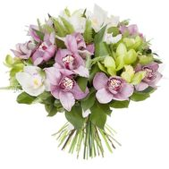 Original bouquet of orchids - flowers and bouquets on salonroz.com