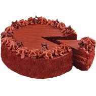 Chocolate cake - flowers and bouquets on salonroz.com