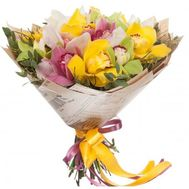 Удивительный букет орхидей - цветы и букеты на salonroz.com