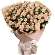 Gorgeous spray roses in a bouquet - flowers and bouquets on salonroz.com