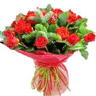 A delightful bouquet for the New Year - flowers and bouquets on salonroz.com