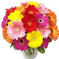 Life-affirming bouquet of gerberas - flowers and bouquets on salonroz.com