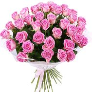 Bouquet of 51 Pink Roses - flowers and bouquets on salonroz.com