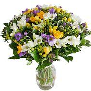 Большой букет фрезий - цветы и букеты на salonroz.com