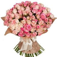 Large bouquet of spray roses - flowers and bouquets on salonroz.com