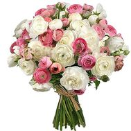 Large bouquet of Rununculus - flowers and bouquets on salonroz.com
