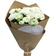A bouquet of white ranuncles - flowers and bouquets on salonroz.com