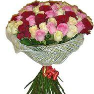 Букет из 65 роз - цветы и букеты на salonroz.com