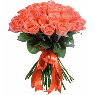 Bouquet of coral roses - flowers and bouquets on salonroz.com