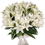 Bouquet of lilies - Manila - flowers and bouquets on salonroz.com