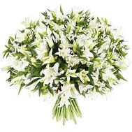 Bouquet of lilies - Naples - flowers and bouquets on salonroz.com