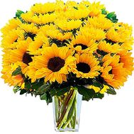Bouquet of sunflowers - Positive - flowers and bouquets on salonroz.com
