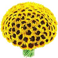 Bouquet of sunflowers - Luxury - flowers and bouquets on salonroz.com