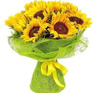 Bouquet of sunflowers - Sun - flowers and bouquets on salonroz.com