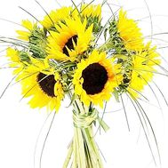 Bouquet of sunflowers - Morning - flowers and bouquets on salonroz.com