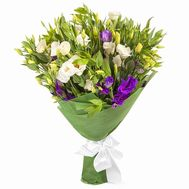 Wonderful eustoma in bouquet - flowers and bouquets on salonroz.com