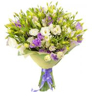 Elegant bouquet of eustoma - flowers and bouquets on salonroz.com