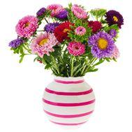 Фантастический букет астр - цветы и букеты на salonroz.com