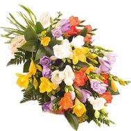 Amazing bouquet of freesias - flowers and bouquets on salonroz.com