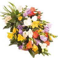 Изумительный букет фрезий - цветы и букеты на salonroz.com