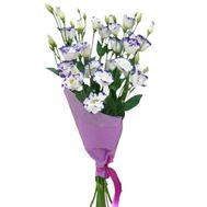 Small bouquet of eustoma - flowers and bouquets on salonroz.com