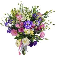 A charming bouquet of 25 notes - flowers and bouquets on salonroz.com
