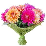 Autumn bouquet of dahlias - flowers and bouquets on salonroz.com