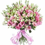 Premium bouquet from the eustoma - flowers and bouquets on salonroz.com