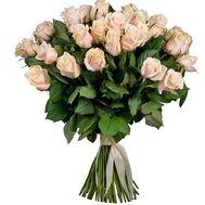 Розкішний букет кремових троянд - цветы и букеты на salonroz.com