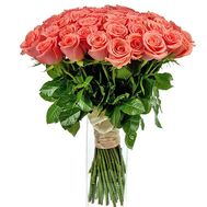 a magnificent bouquet of orange roses - flowers and bouquets on salonroz.com
