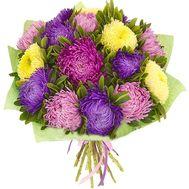 Восхитительный букет астр - цветы и букеты на salonroz.com